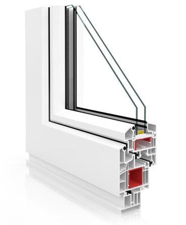 Ventanas de pvc con tres 3 juntas veka perfil vp 70 - Precios ventanas pvc climalit ...