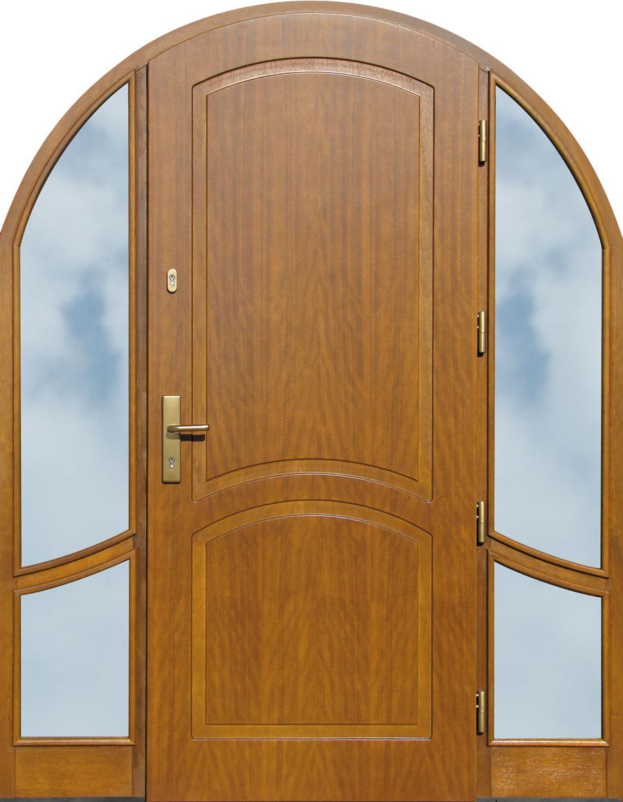 Puertas de entrada de madera for Puertas pivotantes madera